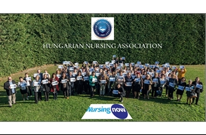 Egyesületünk 2018. november 8-án csatlakozott a Nursing Now nemzetközi kampányhoz