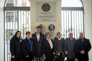 Kossuth Zsuzsanna emléktáblájának koszorúzása 2019. 02. 18. Bp. V. kerület